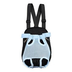 Fosinz Outdoor Adjustable Pet Carrier Breathable Comfortable Backpack Lightweight Bag Free Your Hands >>> More info could be found at the image url.