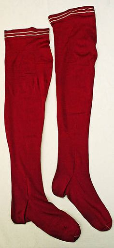 Stockings  Date: 1898–99 Culture: French (probably) Medium: silk