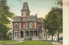 In 1897, the Board of Education purchased the George Davis property located at Waller and Gallia Streets. The house was remodeled at the cost of $18,000, and called Davis High School. High school classes were held in this building from 1902-1910. Students attended Second Street School until the new high school opened in 1912.