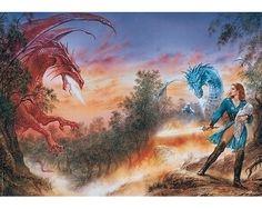 Puzzle Heye El Ataque del Dragón de 1000 Piezas
