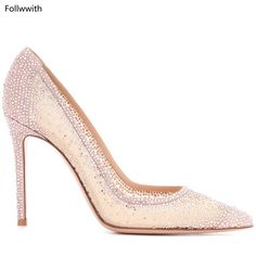 218e92db5a0 Nude Black Red Pink Suede Crystal-embellished Pumps Hot Sales Classic High  Heels Beige-