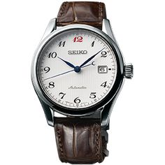 For over a century, Seiko has developed and refined its mechanical watchmaking skills. Today, all this experience comes together in a new, all-mechanical, collection named Presage. Seiko Presage, Cheap Watches, Watches For Men, Seiko Watches, Leather, Clocks, Accessories, Clock Art, Classic