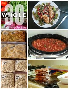 A Whole 30 Freezer Cooking PlanGrab this easy freezer meal plan that will help you get a ton of proteins in the freezer and ready for great meals.