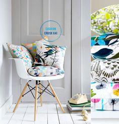 Cushion Crush! New Textiles by Imogen Heath