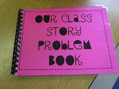 Students use a picture to write their own story problems-sounds like a great math center for rear round.