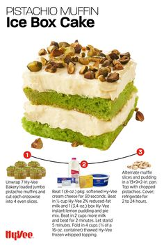 Pistachio Muffins, Banana Nut Muffins, Pistachios, Almonds, Pudding Frosting, Jumbo Muffins, Cupcake Cakes, Cupcakes, Whipped Cream Cheese