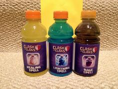 Clash of Clans Party Drinks