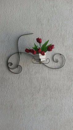 floreira de parede -artigos de decoração- novo