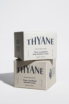 THYANE Skincare Retro Brand Identity is part of Retro packaging - Packaging labels design - Packa Retro Packaging, Bottle Packaging, Print Packaging, Design Packaging, Packaging Ideas, Coffee Packaging, Food Packaging, Simple Packaging, Design Food
