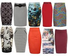 Image result for pencil skirts