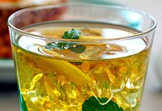 Flat Belly Drink: Green Tea - sip green tea before a workout, can also increase fat burn during aerobic exercise
