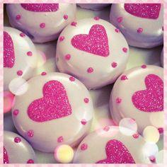 Sweet Indulgence Chocolate covered Oreos. Valentine's day treats