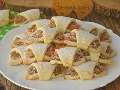 Apple cookies Fabrication : Apple cookies For internal mortar; No Flour Cookies, Cookies Et Biscuits, Yummy Cookies, Apple Recipes, Cookie Recipes, Apple Cookies, Kebab Recipes, Cake Decorating Tips, Turkish Recipes