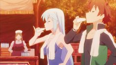 Aqua is our real goddess of misfortuneand will bring an avalanche of jokes right in your plate.