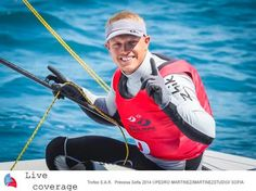 ISAF Sailing World Cup - Mallorca - Tom Burton blasted to World Cup victory winning the medal race from Ash Brunning (who finished eighth overall) and Matt Wearn( who finished sixth overall.)