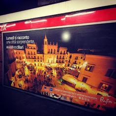 """#metro #milano #weekendbari #top #baricaputmundi""  Grazie per aver condiviso con noi la tua foto, Antonio!"