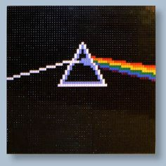 """Aaaaaand I'm spent. This amazing cover art is the creation of LEGO artist and """"master model builder"""", Jonathan Eric Hunter . He also built a LEGO album cover of Pink Floyd's """"The Wall"""": http://www.buzzfeed.com/cconnelly/lego-pink-floyd-dark-side-of-the-moon-album-cove-s3x"""