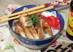 Teriyaki Hühnchen - mit duftenem Jasminreis