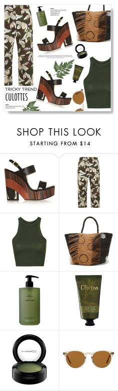 """Right Now!"" by viola279 ❤ liked on Polyvore featuring Jimmy Choo, Dorothy Perkins, Topshop, Sensi Studio, Byredo, Olivina, MAC Cosmetics and Oliver Peoples"