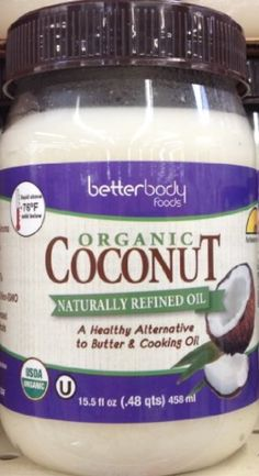 BETTERBODY OIL COCONUT NTRLLY RFND, 15.5 OZ by BetterBody Foods -- Awesome products selected by Anna Churchill