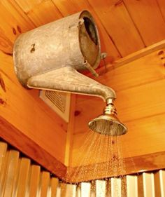 Redneck shower...