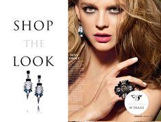 By Dziubeka w Cosmopolitan <3 #bydziubeka #jewerly # #fashion #style #magazine #pressroom #press