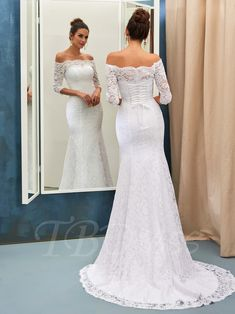 2018 Wedding Dresses Mermaid Lace - Cold Shoulder Dresses for Wedding Check more at http://svesty.com/wedding-dresses-mermaid-lace/