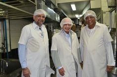 Mr N. H. Israni Founder of Blue Cross Laboratories visits Annamrita