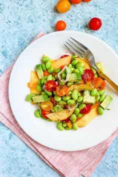 Summer Vegetable Ceviche / blog.jchongstudio.com