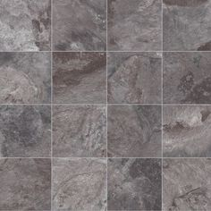 Highly durable and easy to install, this vinyl flooring has marble texture in grey hues but with benefits of vinyl. It is slip-resistant with an R10 rating and has a 0.15mm wear layer to resist daily wear and tear. It is available in 2m, 3m and 4m roll widths and comes with 2 years warranty period. Vinyl Flooring Uk, Stone Flooring, Marble Texture, Slate, Tile Floor, Floor Covering, Household, Easy, Traditional