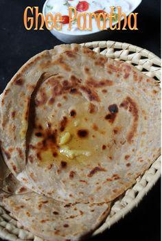 YUMMY TUMMY: Ghee Paratha Recipe / How to Make Plain Paratha / Paratha Recipe