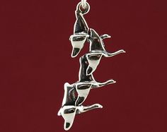 Flying Geese Pendant in 925 Sterling Silver €18.00  plus shipping