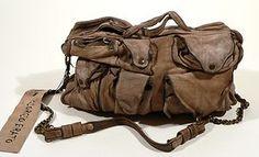 b33cc8c54e GIORGIO BRATO Handmade Distressed Leather Vintage Messenger Bag Italy Very  Rare Vintage Messenger Bag