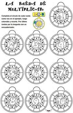 This Pin was discovered by Iev Number Writing Practice, Writing Numbers, Math Worksheets, Math Activities, Math Multiplication, Fractions, Homeschool Math, 3rd Grade Math, Math Facts