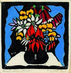 Australian Flowers (1927) Margaret Rose Preston