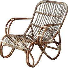 Sweet Living Naturel rotan loungestoel - Mahakan Rattan Furniture, Outdoor Furniture, Outdoor Chairs, Outdoor Decor, Future House, Wicker, Euro, Sofa, Interior