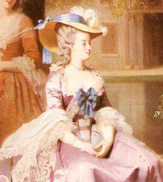 illustration of Marie Antoinette