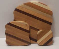 Cutting Boards Set of 3 BREAD by tomroche on Etsy, $25.00