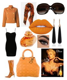 """Sem título #27"" by jacy-mariah on Polyvore featuring moda, Christian Dior, Pilot, SUSAN FOSTER e Lime Crime"
