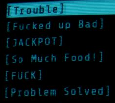 I have never related better to any terminal entries . Fallout New Vegas, Fallout 3, Cyberpunk 2077, Intj, Satan, The Wombats, Tales From The Borderlands, Lone Wanderer, Chaotic Neutral