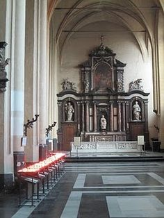 Reno's choir sang in this church...  Beautiful!!! #church #brugge #Belgium