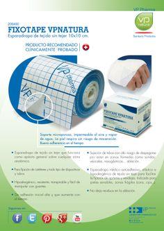 Esparadrapo medico hipoalergenico tejido sin tejer VP NATURA