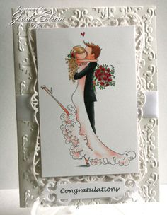 Brett and Brenda Get Married by elamdesign33 - Cards and Paper Crafts at Splitcoaststampers