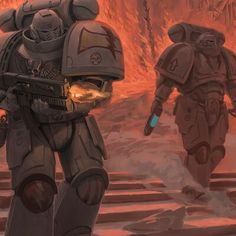 A Declaration in Flames Salamanders Space Marines, Warhammer 40k Art, Swords And Daggers, Master Chief, Lego, Comics, Artwork, Outfits, Fictional Characters