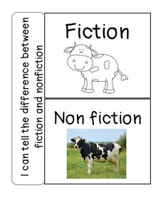 Great flip book for the characteristics of fiction and nonfiction! Lots of wonderful interactive notebook ideas!