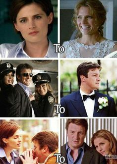 The evolution of the characters on this show Castle Tv Series, Castle Tv Shows, Castle 2009, Castle Abc, Nathan Fillon, Detective, Richard Castle, Castle Beckett, Greys Anatomy Cast