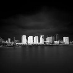 Rotterdam - White on Black by Joel Tjintjelaar, via Flickr