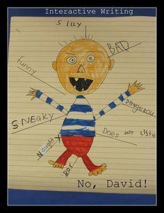 No David Descriptive words
