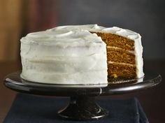 Made this Incredibly Moist Pumpkin-Spice Cake with Cream Cheese Frosting a few Sundays ago. AMAZING. Made from a Betty Crocker Spice Cake Mix.