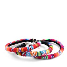 Serape Bangles- Set of 3 - Furbish Studio